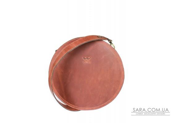 Жіноча шкіряна сумка Amy L коньячна вінтажна - TW-Amy-big-kon-crz BlankNote