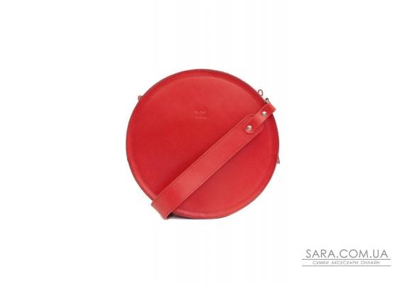 Жіноча шкіряна сумка Amy L червона сап'ян - TW-Amy-big-red-saf BlankNote
