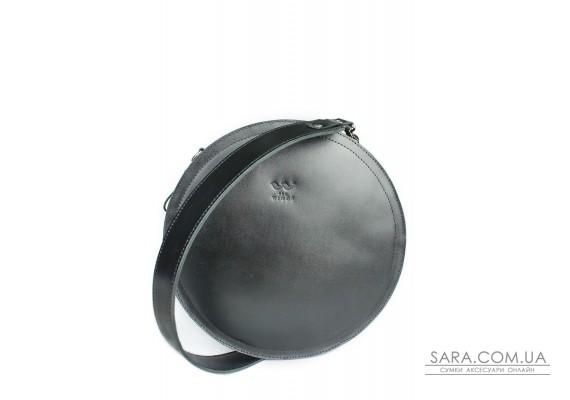 Жіноча шкіряна сумка Amy L чорна - TW-Amy-big-black-ksr BlankNote