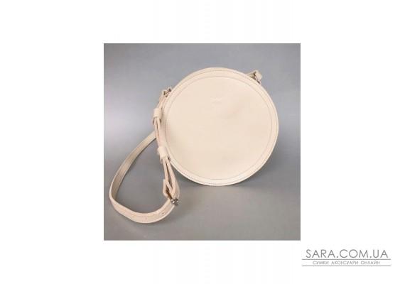 Жіноча шкіряна сумка Amy S бежева - TW-Amy-small-beige-ksr BlankNote