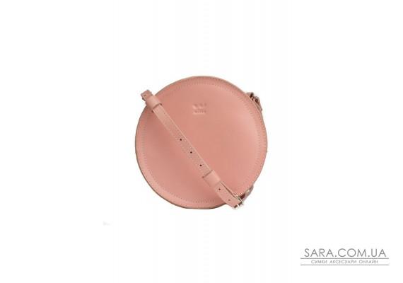 Жіноча шкіряна сумка Amy S рожева - TW-Amy-small-pink-ksr The Wings