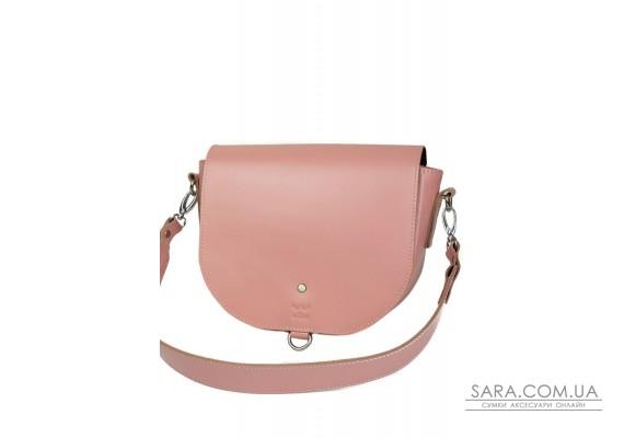 Жіноча шкіряна сумка Ruby L рожева - TW-Ruby-big-pink-ksr The Wings