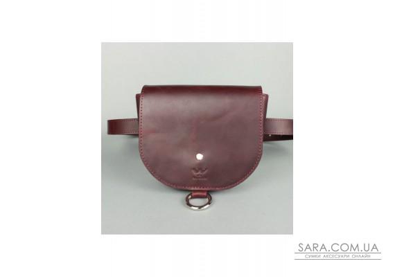 Жіноча шкіряна сумка Ruby S бордова вінтажна - TW-Ruby-small-mars-crz The Wings