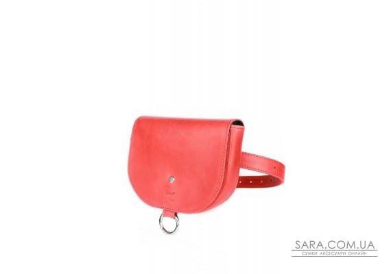 Жіноча шкіряна сумка Ruby S червона вінтажна - TW-Ruby-small-red-crz The Wings