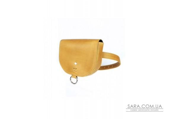 Жіноча шкіряна сумка Ruby S жовта вінтажна - TW-Ruby-small-yell-crz The Wings