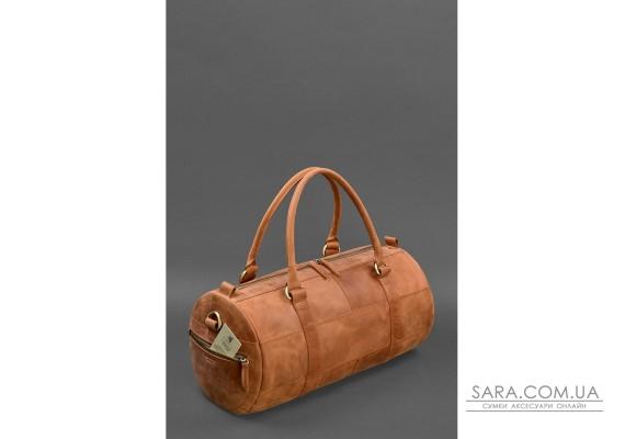 Чоловіча шкіряна сумка Harper Світло-коричнева Crazy Horse - BN-BAG-14-k-kr BlankNote