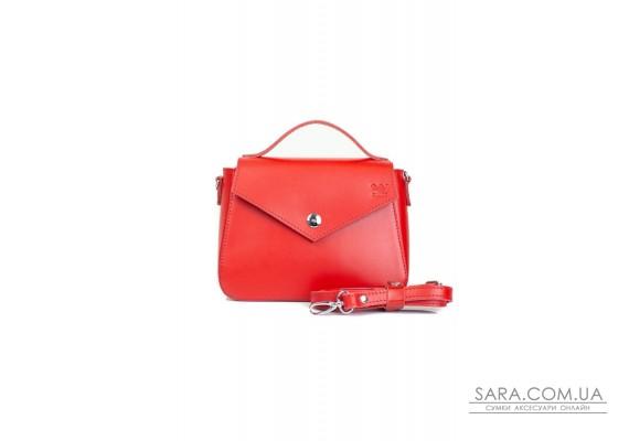 Жіноча шкіряна сумочка Lili червона - TW-Lily-red-ksr BlankNote
