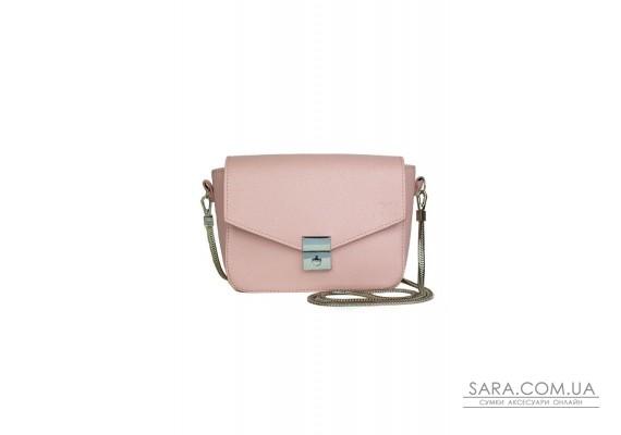 Жіноча шкіряна сумочка Yoko рожева флотар - TW-Yoko-pink-flo The Wings