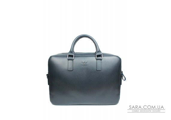 Шкіряна ділова сумка Briefcase 2.0 синий сап'ян - TW-Briefcase-2-blue-saf The Wings