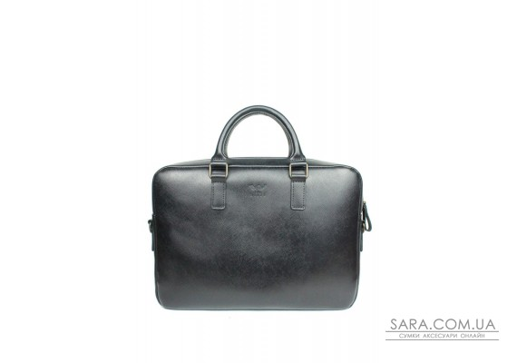 Шкіряна ділова сумка Briefcase 2.0 чорний сап'ян - TW-Briefcase-2-black-saf The Wings