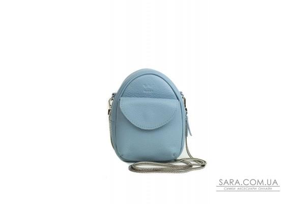 Міні-сумка Kroha блакитний флотар - TW-Kroha-blue-flo The Wings