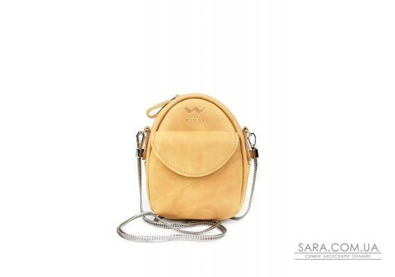 Міні-сумка Kroha жовта вінтажна - TW-Kroha-yell-crz The Wings