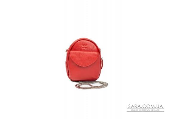 Міні-сумка Kroha червона флотар - TW-Kroha-red-flo The Wings