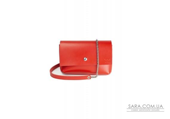 Шкіряна міні-сумка Holiday червона - TW-Hollyday-red-ksr The Wings