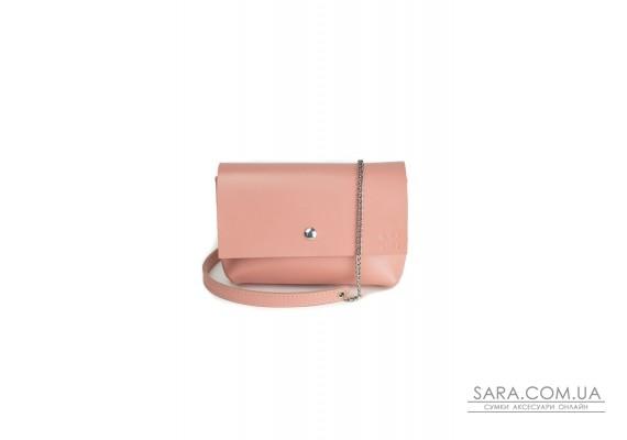 Шкіряна міні-сумка Holiday рожева - TW-Hollyday-pink-ksr The Wings