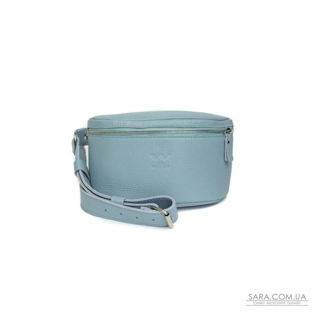 Купити Шкіряна поясна сумку Explorer S блакитна флотар - TW-Explorer-S-blue-flo The Wings. Україна