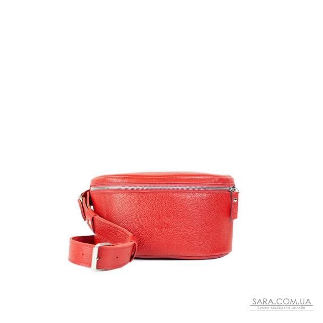 Купити Шкіряна поясна сумку Explorer S червона флотар - TW-Explorer-S-red-flo The Wings. Україна