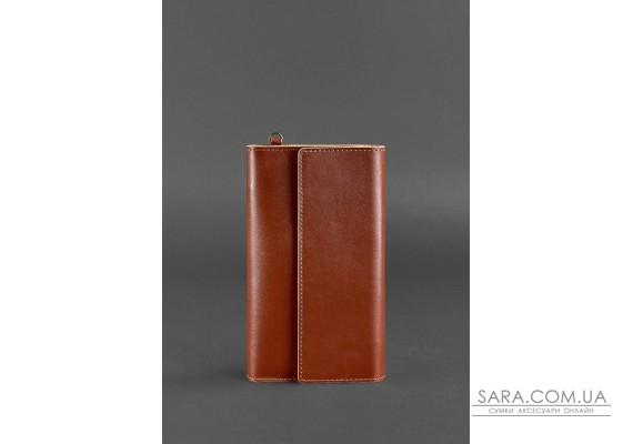 Шкіряний клатч-органайзер (Тревел-кейс) 5.1 світло-коричневий - BN-TK-5-1-k BlankNote