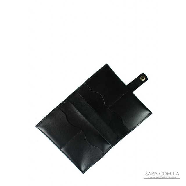 Купити Шкіряна документниця чорна - TW-DocHolder-black-ksr The Wings. Україна