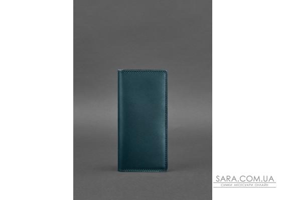 Шкіряне портмоне-купюрник 11.0 зелене - BN-PM-11-malachite BlankNote