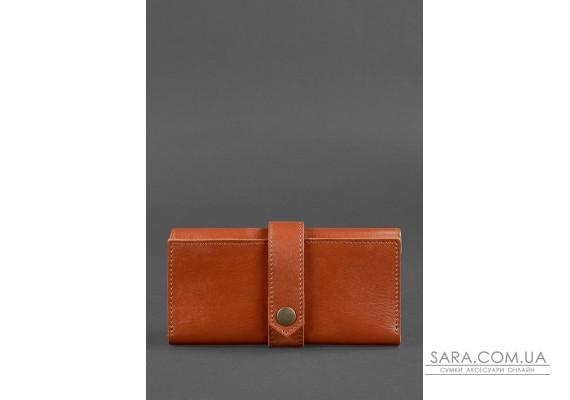 Шкіряне портмоне 3.0 світло-коричневе - BN-PM-3-k BlankNote