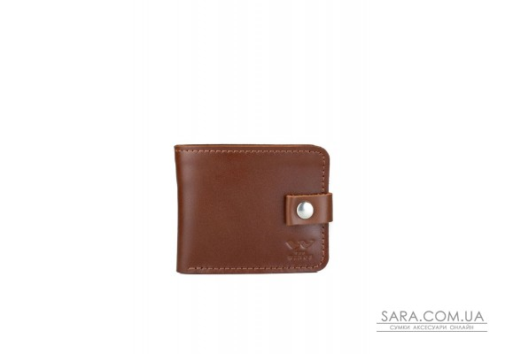 Кожаное портмоне Mini 2.0 светло-коричневый - TW-Portmone-mini-2-kon-ksr The Wings