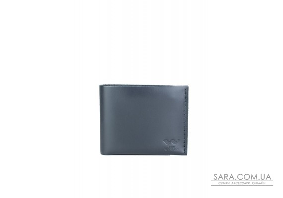 Шкіряний гаманець Mini з монетницею синій - TW-CW-Mini-blue-ksr The Wings