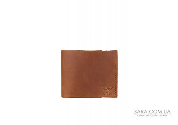 Шкіряний гаманець Mini світло-коричневий вінтажний - TW-W-Mini-kon-kon-crz The Wings