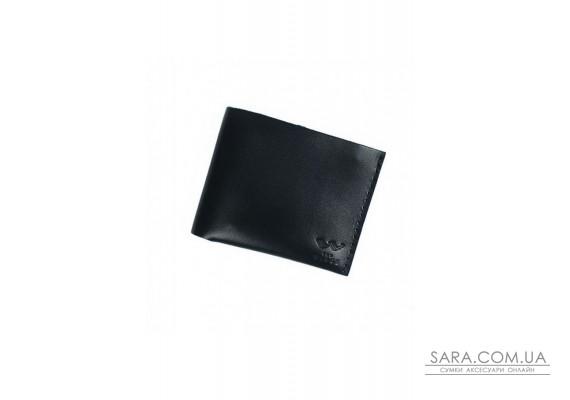 Шкіряний гаманець Mini чорний - TW-W-Mini-black-ksr The Wings