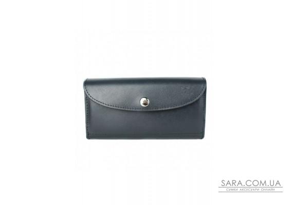 Шкіряний гаманець Smart Wallet синій сап'ян - TW-Smart-blue-saf The Wings