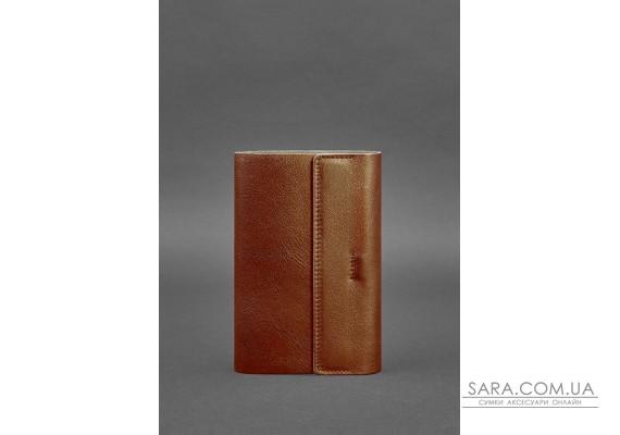 Шкіряний блокнот софт-бук 7.0 світло-коричневий - BN-SB-7-k BlankNote