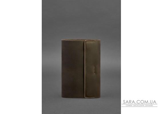 Шкіряний блокнот софт-бук 7.0 темно-коричневий - BN-SB-7-o BlankNote