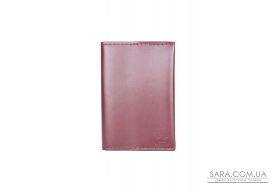 Паспортна обкладинка бордова - TW-PassportHolder-mars-ksr The Wings