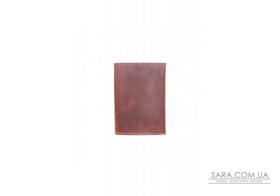 Паспортна обкладинка коньячна вінтажна - TW-PassportHolder-kon-crz The Wings