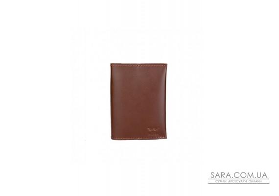 Паспортна обкладинка світло-коричнева - TW-PassportHolder-kon-ksr The Wings