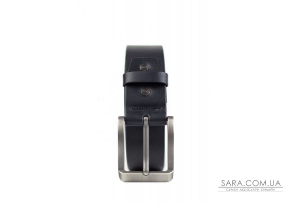 Шкіряний ремінь 40 мм чорний - TW-Belt-40-black The Wings