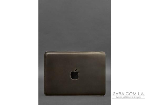 Шкіряний чохол для MacBook Air / Pro 13 '' Темно-коричневий - BN-GC-7-o BlankNote