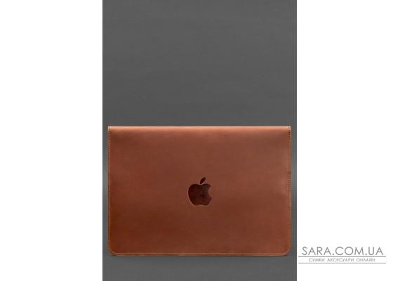 Шкіряний чохол-конверт на магнітах для MacBook Pro 15 - 16 '' Світло-коричневий - BN-GC-12-k-kr BlankNote