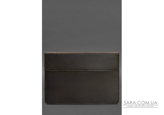 Шкіряний чохол-конверт на магнітах для MacBook Pro 15-16 '' Темно-коричневий - BN-GC-12-o BlankNote