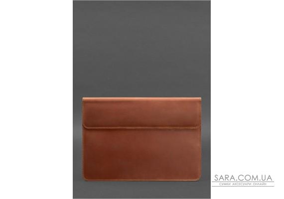 Шкіряний чохол-конверт на магнітах для MacBook Air / Pro 13 '' Світло-коричневий - BN-GC-9-k-kr BlankNote