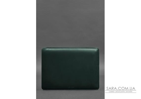Шкіряний чохол для MacBook Air / Pro 13 '' Зелений - BN-GC-7-iz BlankNote