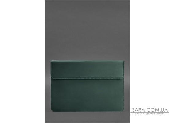 Шкіряний чохол-конверт на магнітах для MacBook Air / Pro 13 '' Темно-коричневий - BN-GC-9-iz BlankNote