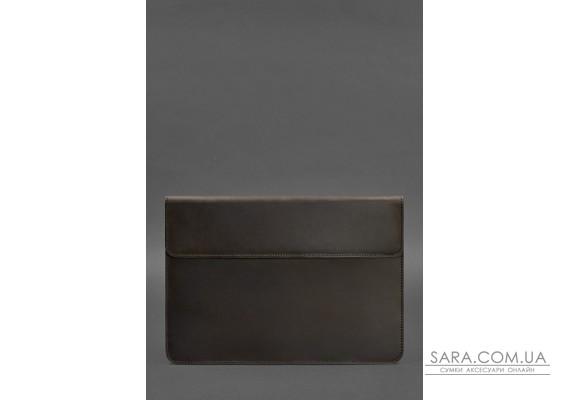 Шкіряний чохол-конверт на магнітах для MacBook Air / Pro 13 '' Темно-коричневий - BN-GC-9-o BlankNote