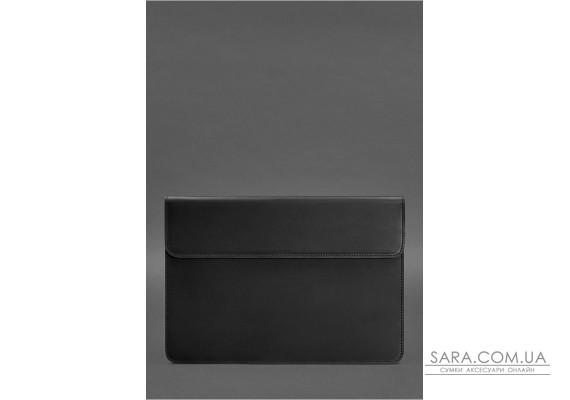 Шкіряний чохол-конверт на магнітах для MacBook Air / Pro 13 '' Чорний - BN-GC-9-g-kr BlankNote
