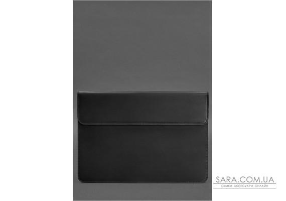 Шкіряний чохол-конверт на магнітах для MacBook Pro 15-16 '' Чорний - BN-GC-12-g-kr BlankNote