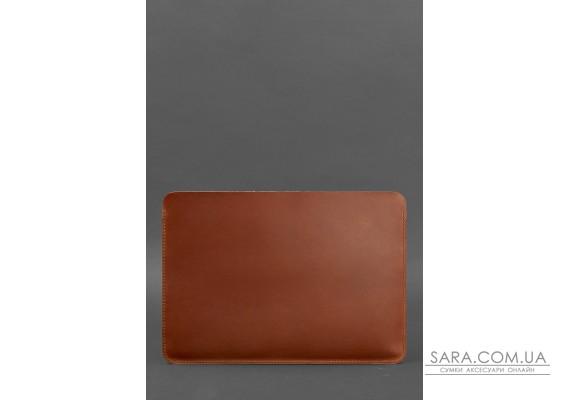 Горизонтальний шкіряний чохол для MacBook Air / Pro 13 '' Світло-коричневий - BN-GC-10-k-kr BlankNote