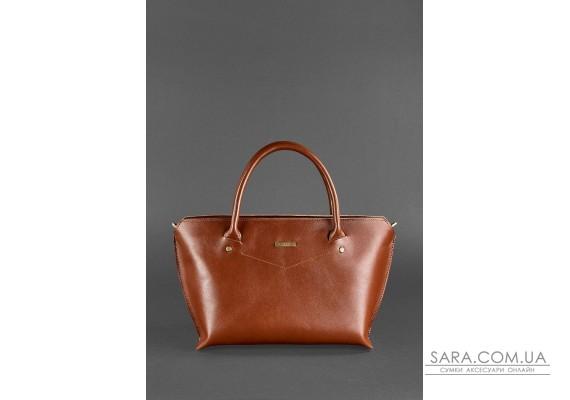 Жіноча шкіряна сумка Midi світло-коричнева - BN-BAG-24-k BlankNote