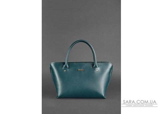 Жіноча шкіряна сумка Midi зелена - BN-BAG-24-malachite BlankNote