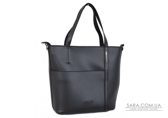 671 сумка чорна Lucherino