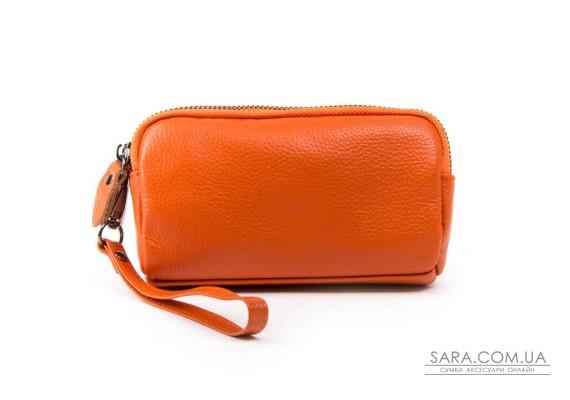 Косметичка кожа 6002-10 orange Podium
